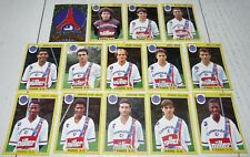PARIS SAINT-GERMAIN PSG PARC EQUIPE COMPLETE PANINI FOOTBALL FOOT 92 1991-1992