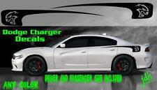 2011-2016 Dodge Charger Hellcat Vinyl Decal Rear Spear Graphic Racing Stripe Car