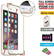 Full Tempered Glass Edge to Edge Coverage Screen Protector Film For iPhone 6S 6