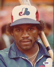 Tim Raines Expos Signed 8x10 Photo Autograph Auto PSA/DNA AD10714