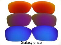 Galaxy Replacement Lenses For Oakley Hijinx Sunglasses Blue&Purple&Red