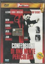 DVD: CONFESSIONI DI UNA MENTE PERICOLOSA ( GEORGE CLOONEY ) NUOVO  SIGILLATO