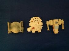 Lot of 3 Star Wars: Episode III Burger King Toys-Millennium Falcon, X-Wing, TIE