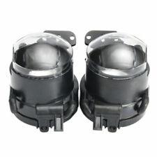 2x Car Front Fog Lights Cover Lamps Housing ABS For BW E60 E90 E63 E46 323i 325i