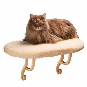 """K&H PET PRODUCTS 3095 White THERMO KITTY SILL WHITE 14"""" X 24"""" X 9"""""""