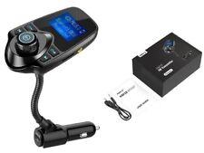 Wireless FM Transmitter In-Car Bluetooth Radio Adapter Car Kit 1.44 Inch Display