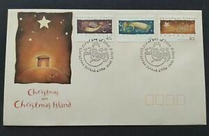 1994 Christmas Island Festivals Celebrating Christmas 3v Stamps FDC