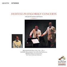 Heifetz / Piatigorsky - Concerts: Beethoven Haydn Rozsa 180G LP RE NEW IMPEX