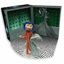 "SDCC 2017 Comic Con Coraline Display Set Figure LED Light Up 7"" Tall NECA Laika"