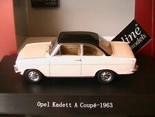 OPEL KADETT COUPE A 1963 WHITE CHAMONIX BLACK ROOF STARLINE 550246 1/43