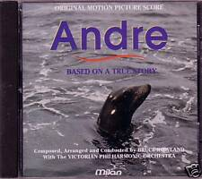 ANDRE Original Motion Picture Score Milan CD BRUCE ROWLAND AN ORPHAN PUP Rare