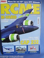 "RCM&E DECEMBER 2009 47"" SPAN ULTIMATE PLANS DAVE ROYDS CAP 232 SUPER CUB LP"
