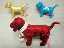 VICTORIA'S SECRET - LOT OF 3 - PINK DOGS COLLECTIBLES