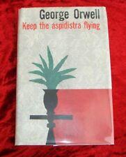 GEORGE ORWELL - Keep The Aspidistra Flying - 1st/1st 1956 with D/J