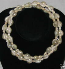 "Sea Shell Beads 34"" Jewelry Necklace - Medium"