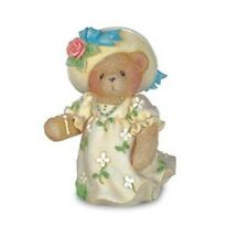 Cherished Teddies 2004 Club Exclusive Name Your Own Girl With Lemonade 117299