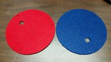 Astatic D -104's Base Plates. Refurbished
