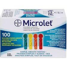 Microlet Lancet Color 100ct