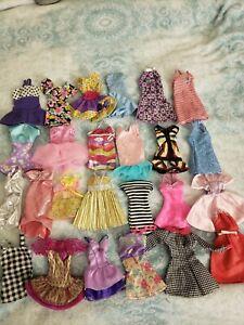 Vintage Genuine Barbie Fashion Lot Of 25 Pieces1980/90's