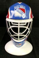New York Rangers Tankard Stein Goalie Mask NHL Limited Edition Longton Crown