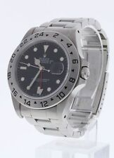 Rolex Explorer II Stainless Steel Watch 16570 40mm W3710