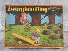 """"""" Zwerglein Flieg """" Brückner Spiele Schleuderbrett Spiel Zwerge selten"""
