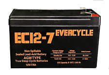 """EverCycle - 12V 7AH - """"APC Back-UPS 550 BE550G"""" Replacement Battery"""