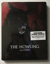 The Howling (Scream Factory Blu-ray Disc, 2018) Steelbook