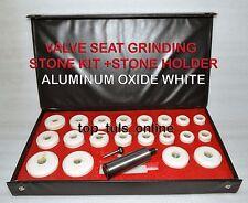 VALVE SEAT GRINDER STONES ZIRCON WHITE 20 PCS & HOLDER BLACK & DECKER 80 GRIT