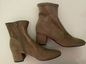 Unisa Suede Look Women's Ankle Boots - Size US 9 - Brand New, No Box