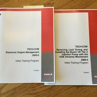 Case International IH TECH-COM ELECTRONIC ENGINE MANAGEMENT TIER 2 GUIDE MANUAL