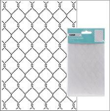 Kaisercraft embossing folders - Netting embossing folder EF255 Fish Nets