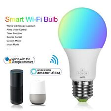 WiFi LED Lights RGBW Bulb Bluetooth with Mesh Technology Home Lighting Decor