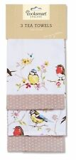 3 Pack Tea Towel 100% Cotton Cooking Chef Kitchen Men Ladies Women Dawn Chorus