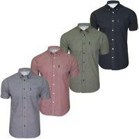 Ben Sherman Mens Signature Gingham Shirt - Short Sleeved
