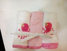 6 Piece set baby washcloths
