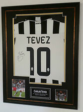 ** Rare Carlos Tevez of Juventus signed Shirt *** AFTAL DEALER 83 COA   **