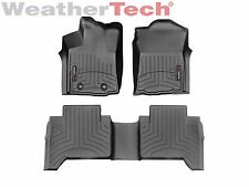 WeatherTech FloorLiner for Toyota Tacoma Double Cab - 2016-2017 - Black