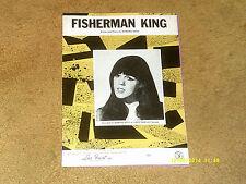Barbara Keith sheet music Fisherman King 1969 4 pages (Vg+ shape)
