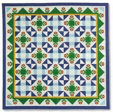 Posy Parade Quilt quilting pattern instructions