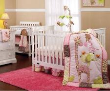 Carter's Jungle Collection 7 Piece Crib Bedding Set Nursery NEW