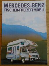 Mercedes Tischer Motorhome brochure Aug 1991 German text