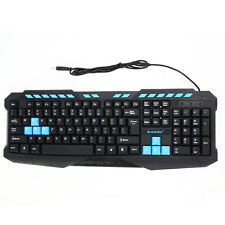 Multimedia USB Wired Gaming Keyboard Game Keyboard for Computer Mac PC Pro Gamer