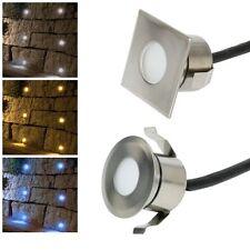 LED Boden-Einbau-Leuchte NÜRNBERG IP67 Edelstahl 12V trittfest Strahler Spot