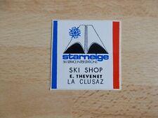 Petit autocollant / sticker STARNEIGE SKI SHOP LA CLUSAZ