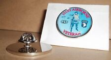 United States Armed Forces 101st Airborne Veteran Lapel pin badge.