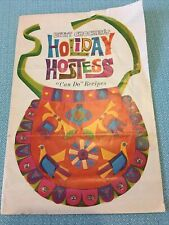 VINTAGE Betty Crocker Holiday Hostess Can Do Recipes Party Pamphlet Coupons