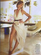 Cameron Diaz 12pg + cover VOGUE magazine, clippings