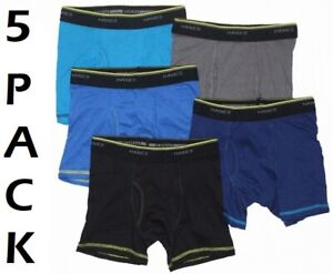 BOYS 5 PACK BOXERS EX STORE UNDERWEAR BOXER SHORTS COMFORT SOFT 6-16Y BRAND NEW