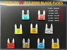 20pcs Renault Auto / Fahrzeug Sicherungen Set Blade 10 15 20 25 30AMP